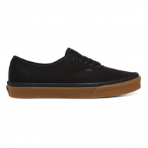 vans authentic 12oz canvas/ black/ gum