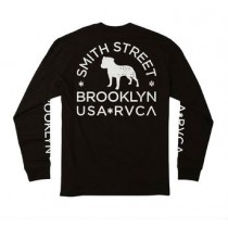 rvca ls smith street wicks black
