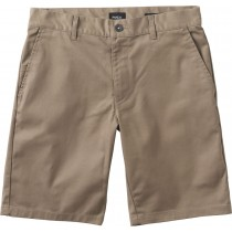 rvca ws weekend stretch dark khaki