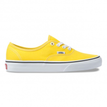 vans authentic vibrant yellow/ true white